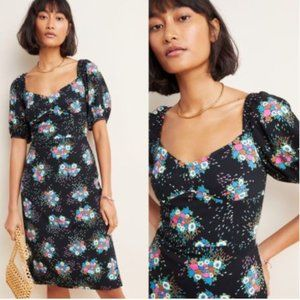 NEW--ANTHROPOLOGIE Scarletta Sweetheart Mini Dress